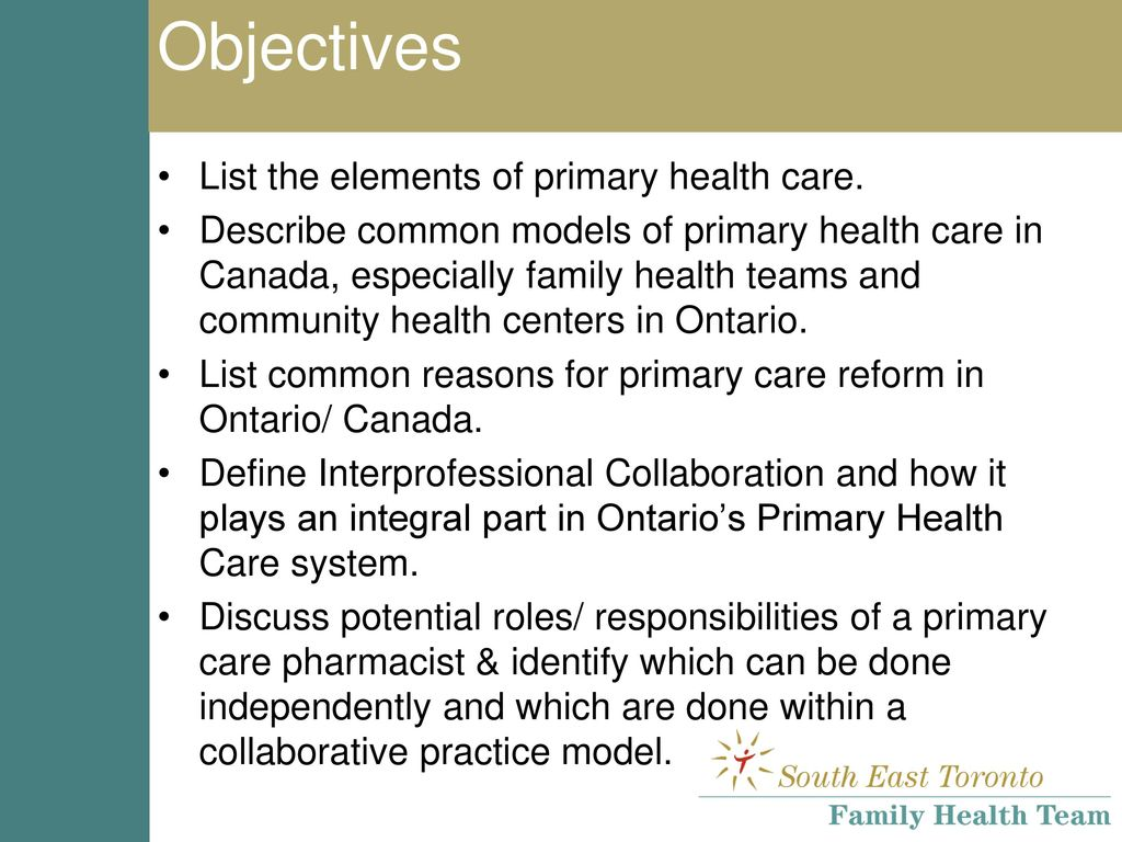 Introduction To Primary Care Ppt Download