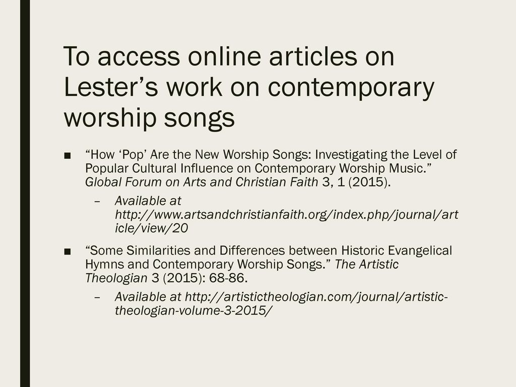 Shaping our Speech and Song in Worship by the New Testament