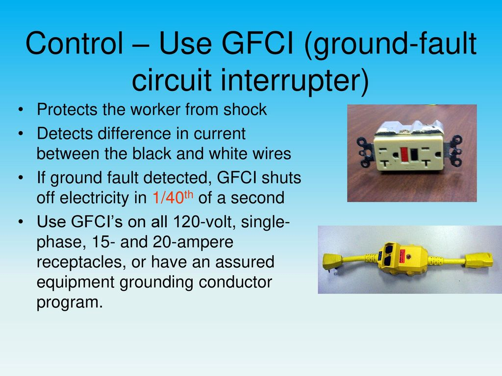 Electrical Safety OSHE 112, Spring ppt download