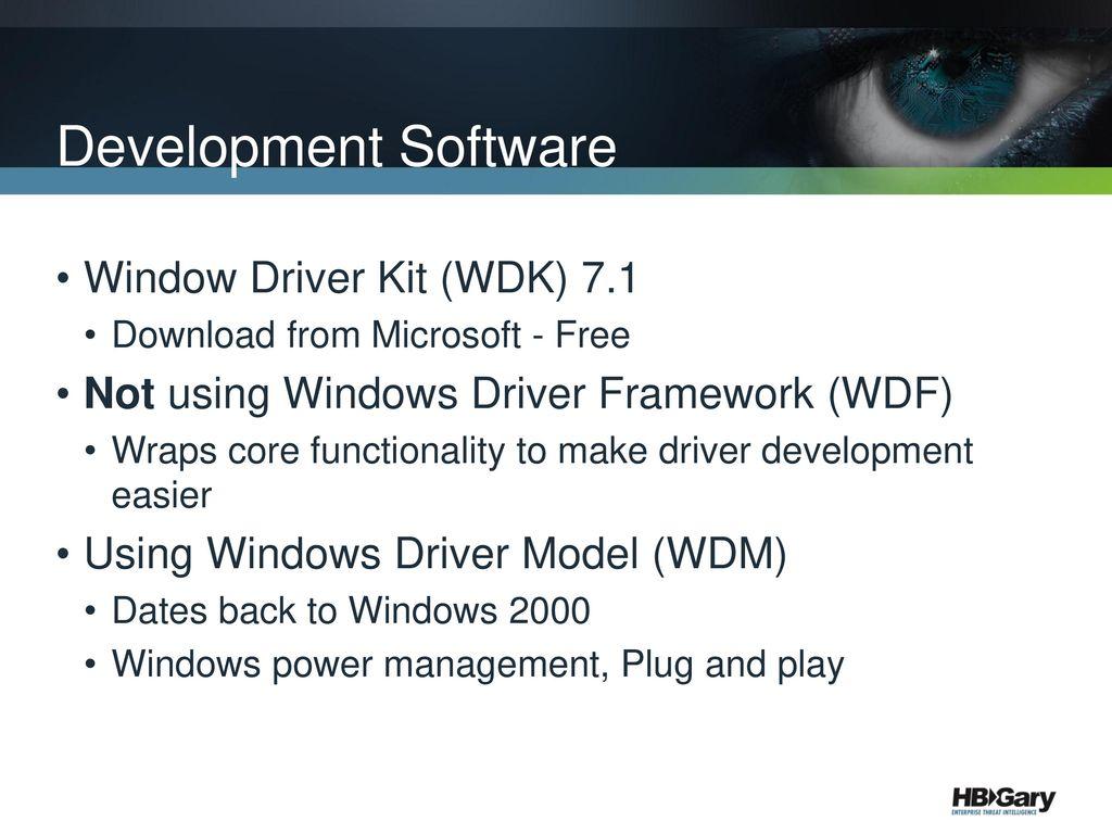 Offensive Rootkit Development - ppt download