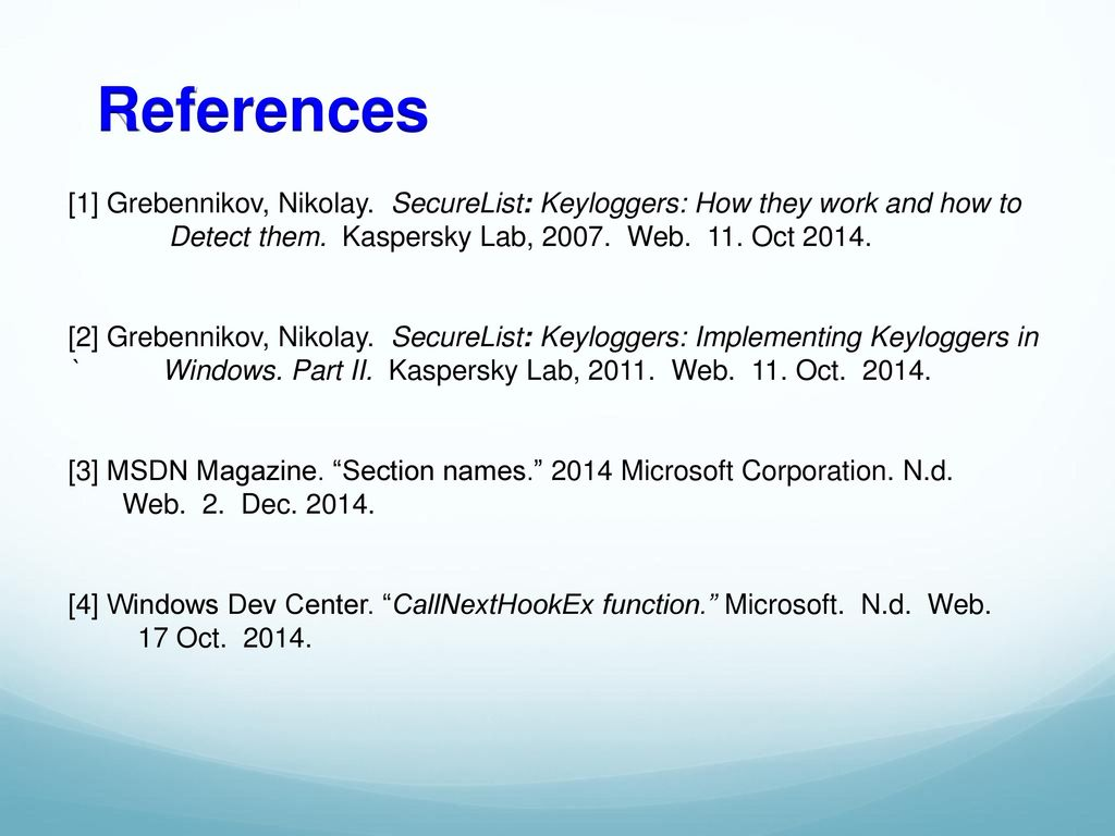 Anatomy and Defense Against Keyloggers - ppt download