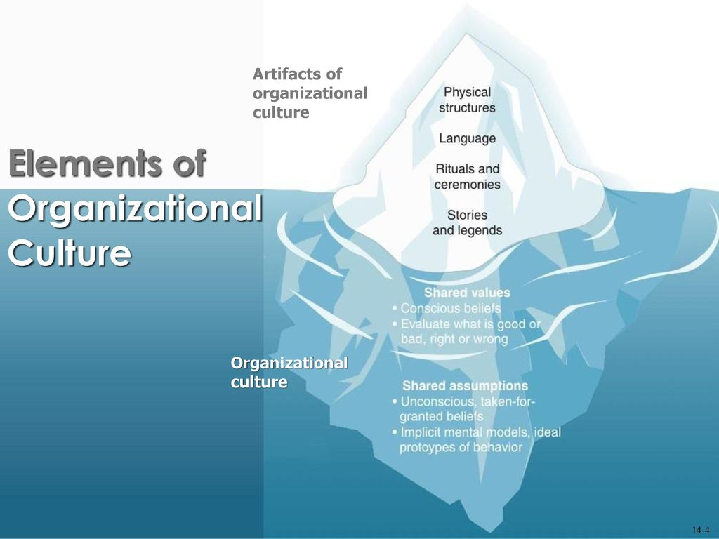 Elements Of Organizational Culture