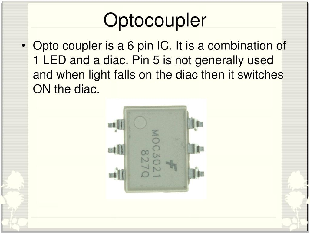 Single Phase Induction Motor Speed Control Ppt Download Led Optocoupler Circuit 17