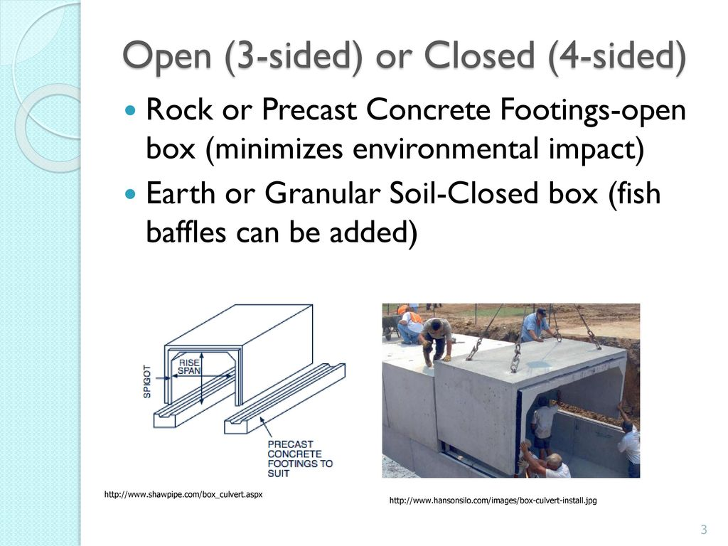 Concrete Box Culverts (CBC) - ppt download
