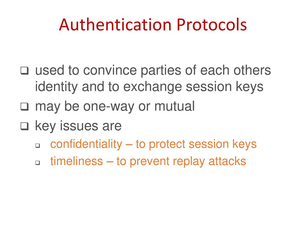 Computer and Network Security - ppt download