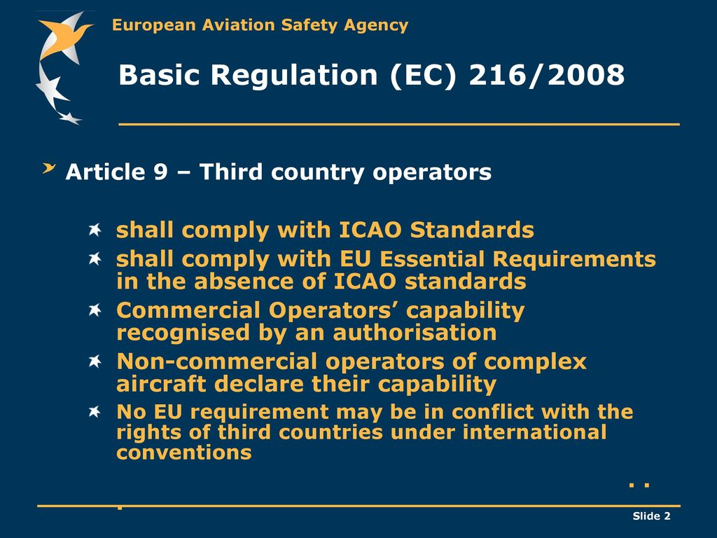 9f791a5924d EU rules for Third Country operators    - ppt download