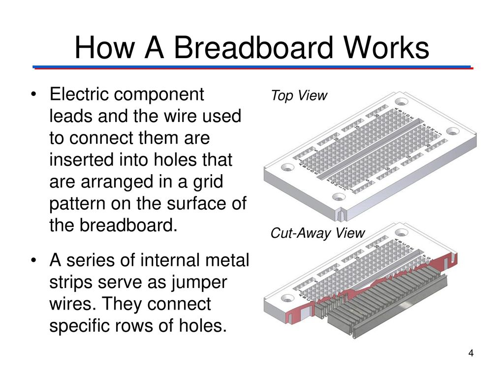 The Breadboard Digital Electronics Tm Ppt Download My Lab How Can Connect Components 12 Introduction To Analog A Works 5 Connections