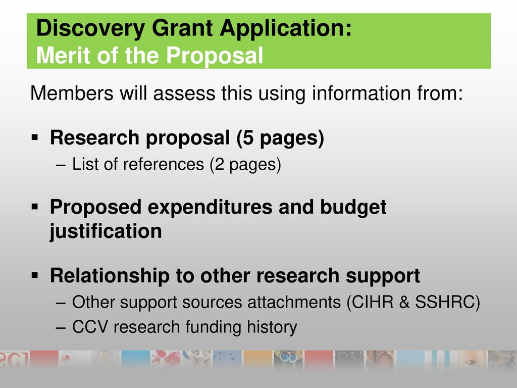 Discovery Of Information About Proposed >> How To Prepare A Discovery Grant Application Ppt Download