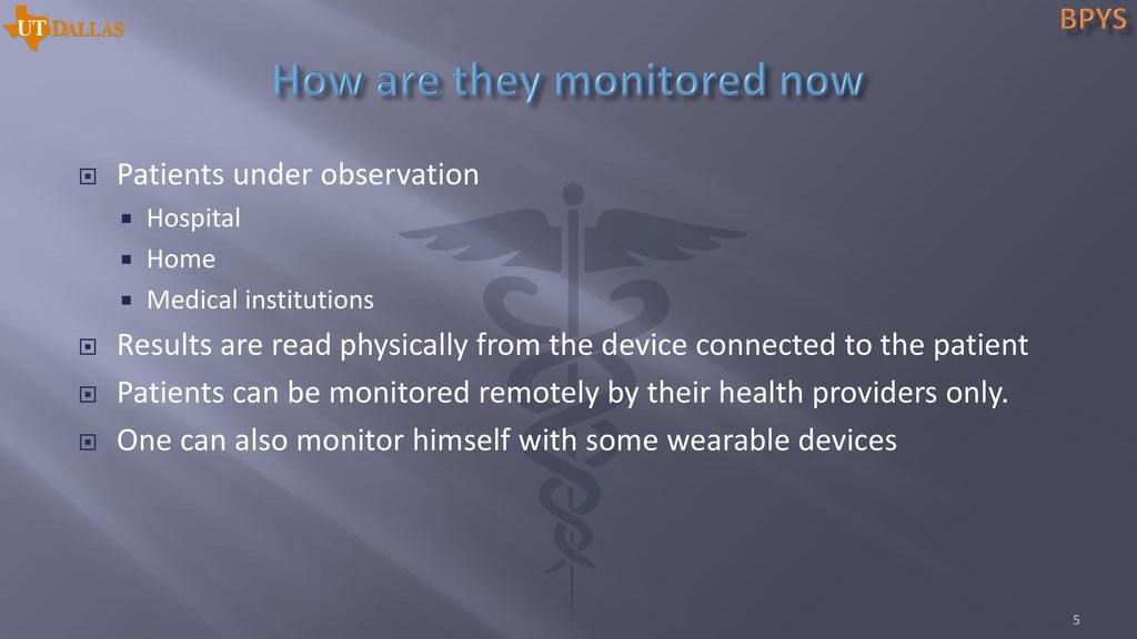 Vital Signs Monitoring system - ppt download