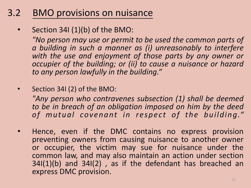 Joint Seminar on Nuisance and Building Management 13 June