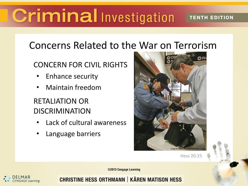 Chapter 20 Terrorism and Homeland Security - ppt download