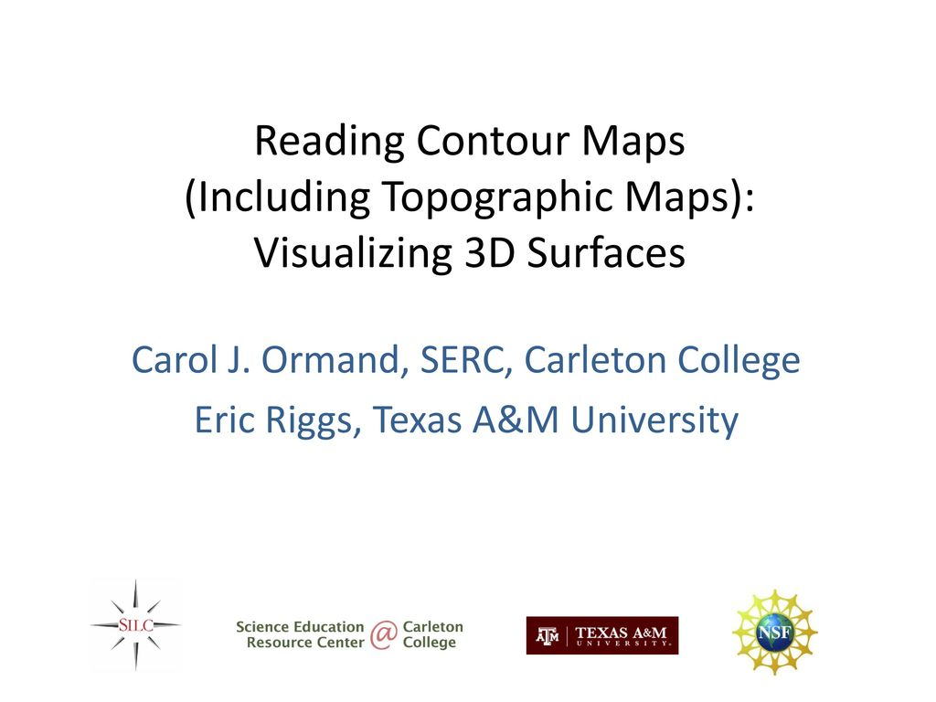 Carol J. Ormand, SERC, Carleton College - ppt download