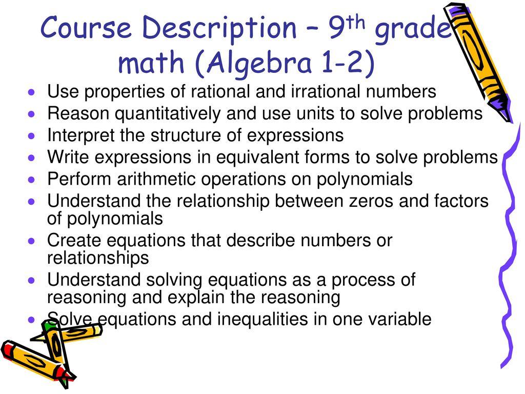 Mrs. Robinson 8th grade Math - ppt download