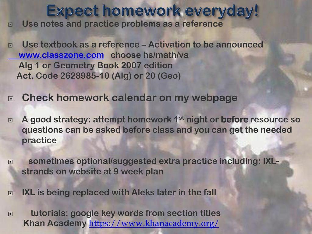 Welcome Algebra & Geometry Stacia Frye J Michael Lunsford - ppt download