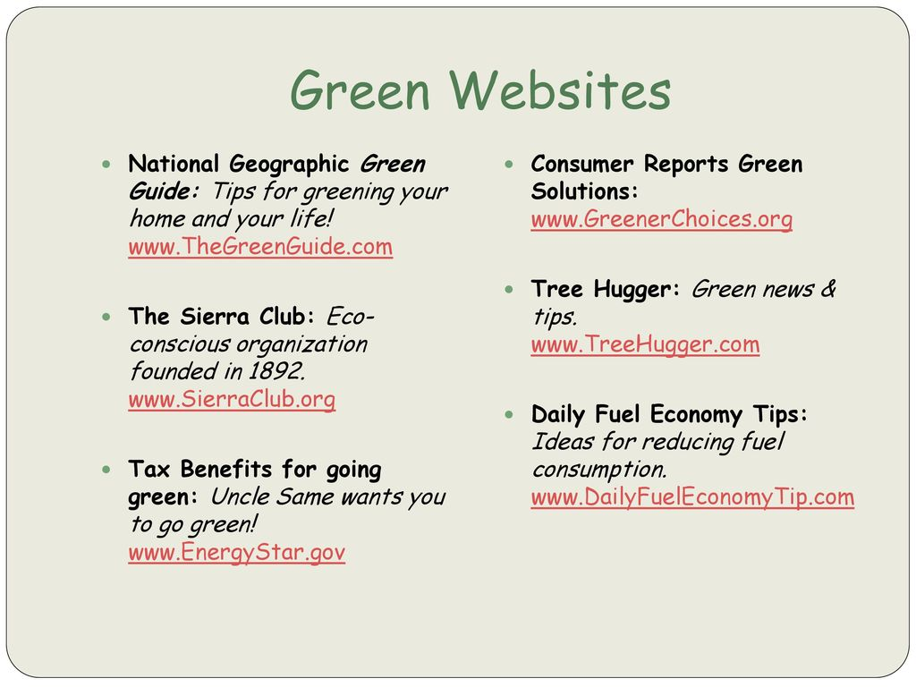 Information Central\'s Going Green in the Office…and at Home - ppt ...