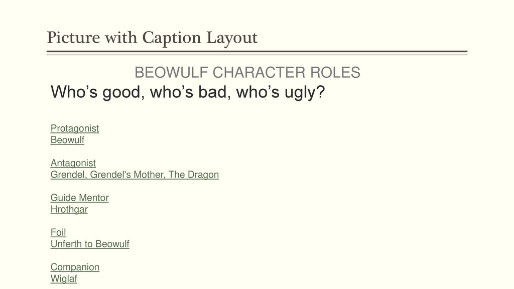 beowulf a new telling by robert nye ppt download rh slideplayer com Grendel Beowulf Description Beowulf Book