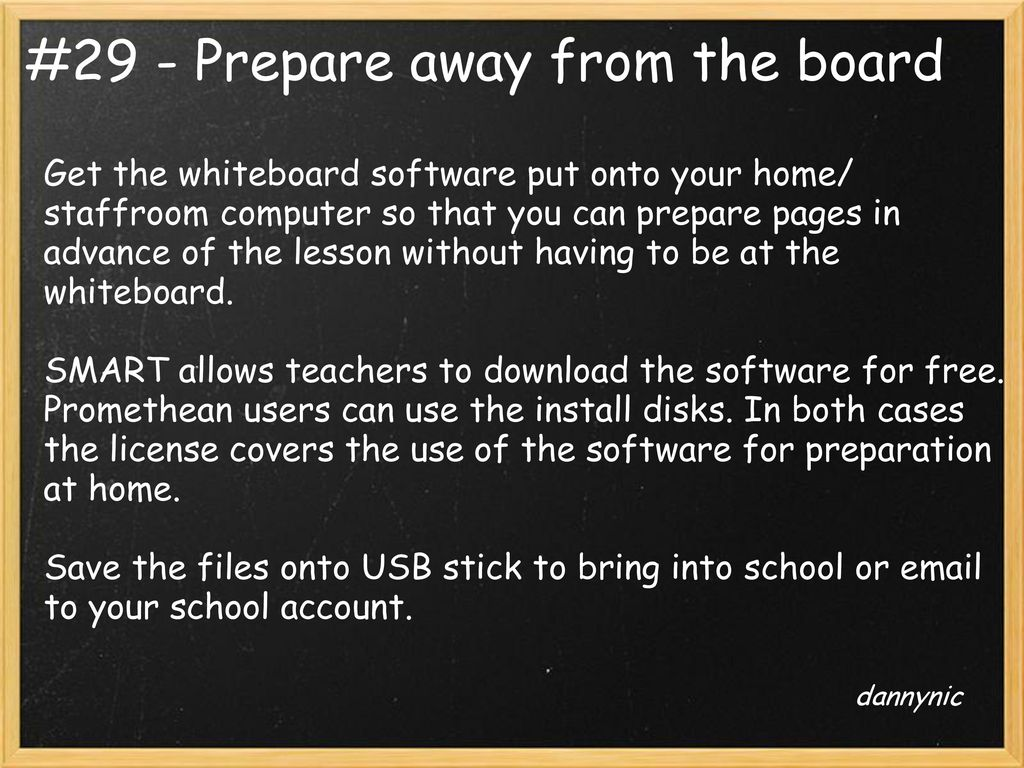 52 Interesting Ways* to use an Interactive Whiteboard in the