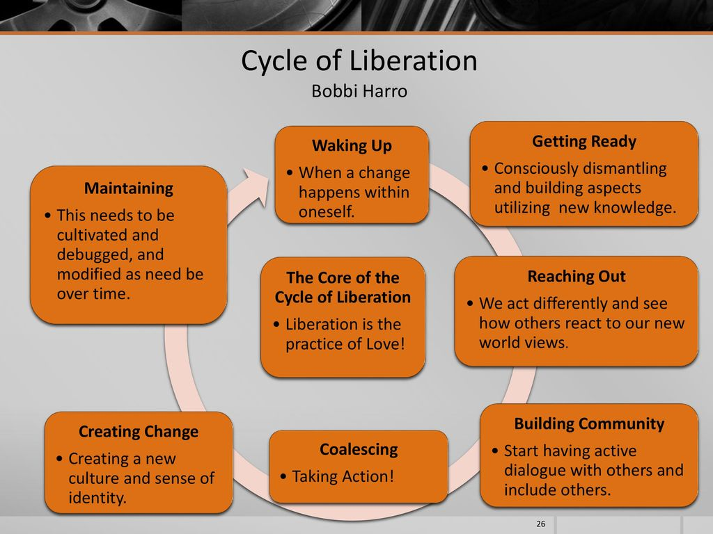 cycle of liberation example