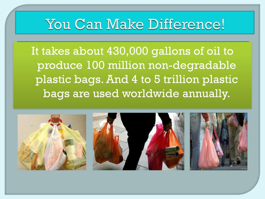 say no to plastic bags. - ppt download, Powerpoint Plastic Bag Presentation Template, Presentation templates