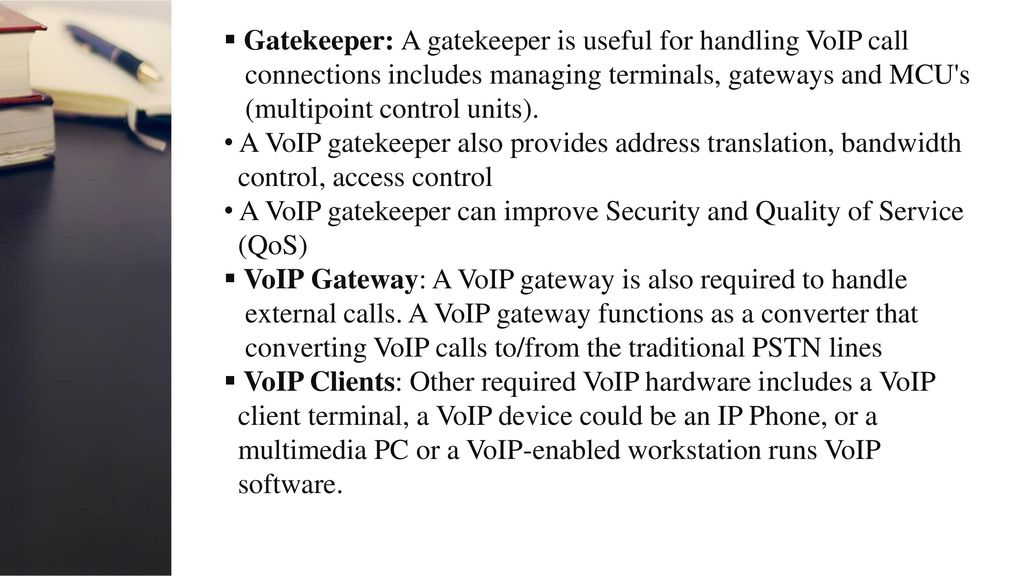 Voip allppt free powerpoint templates diagrams and charts gatekeeper a gatekeeper is useful for handling voip call toneelgroepblik Gallery