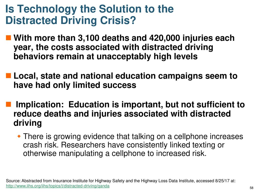 Distracted Driving Trends, Challenges, Solutions - ppt download