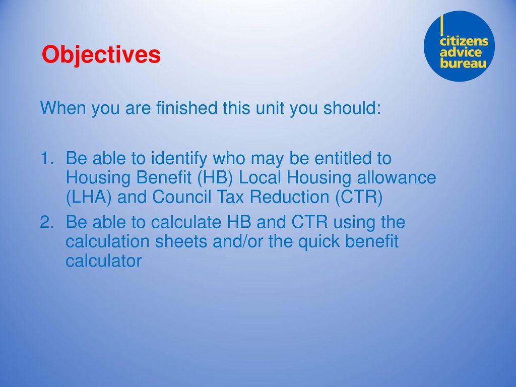 Housing benefit calculator: housing benefit calculator.