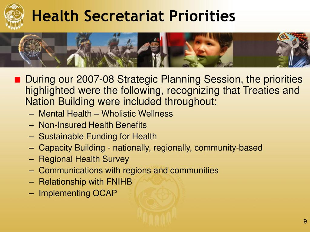 Assembly Of First Nations Health Secretariat Update Ppt Download