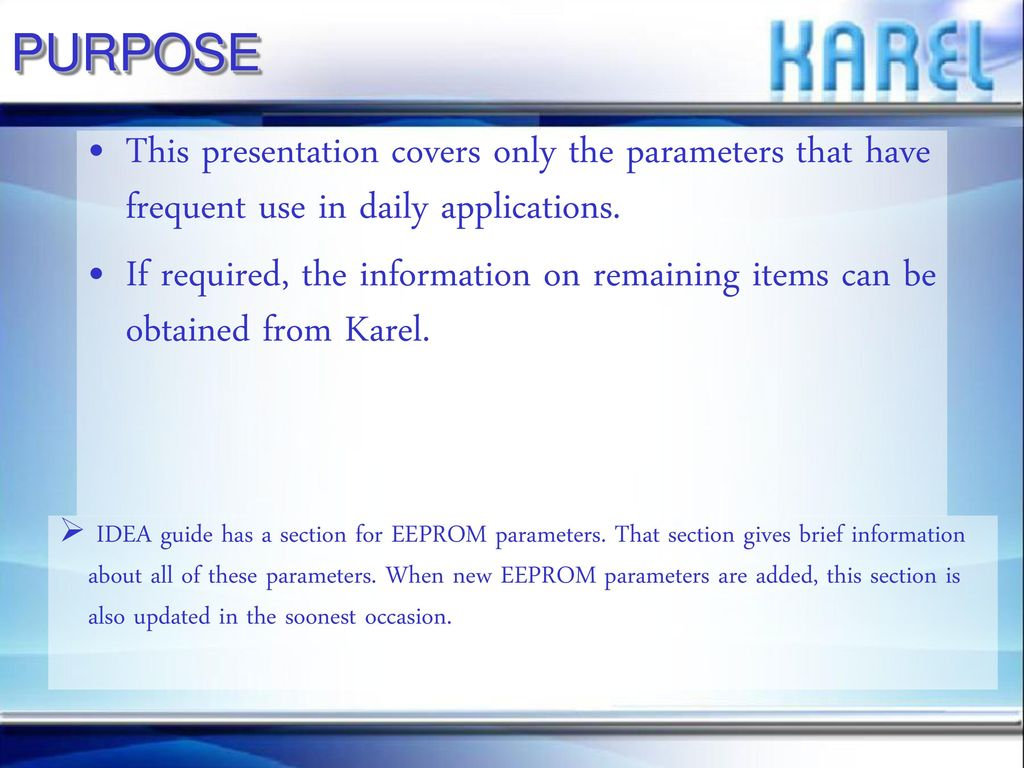 DS200 EEPROM PROGRAMMING  - ppt download