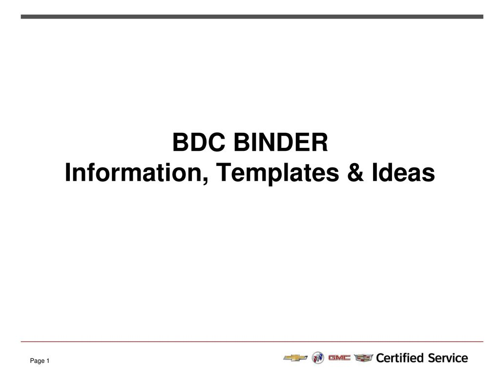 Bdc binder information templates ideas ppt download 1 bdc binder information templates ideas flashek Image collections