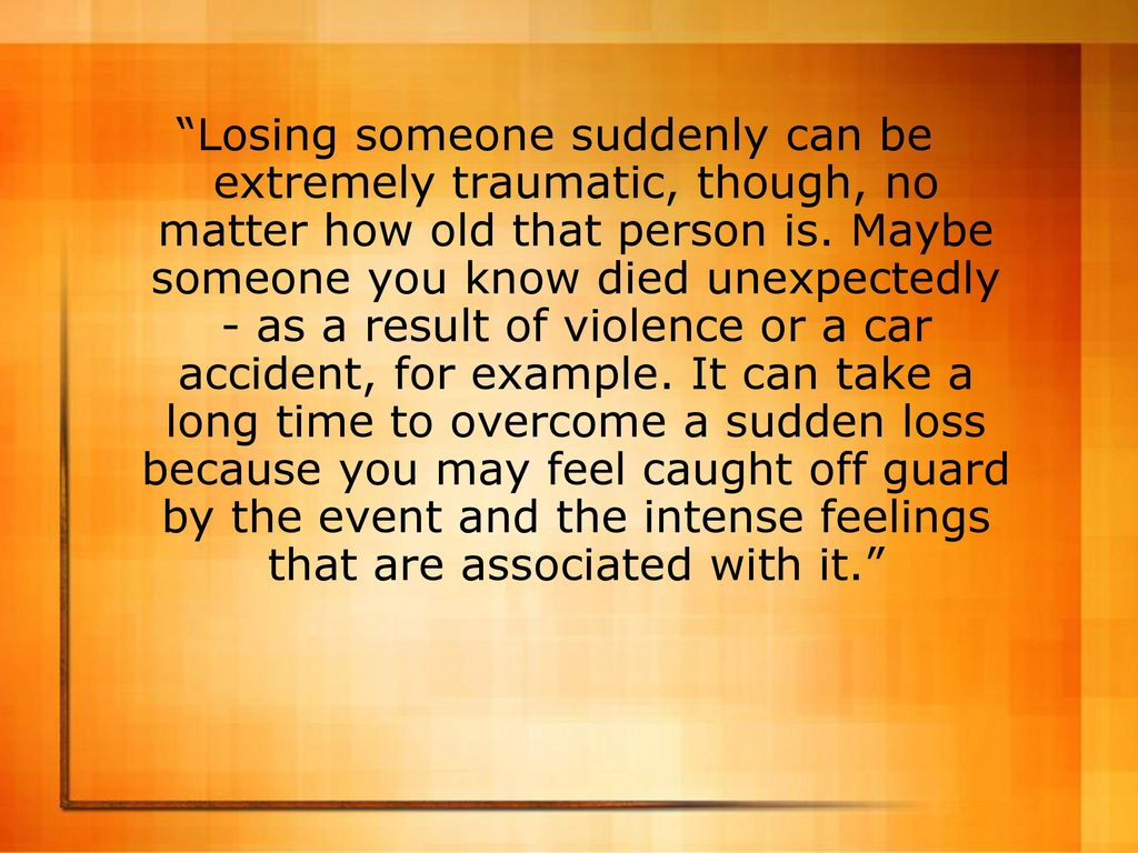 Discussion on this topic: How to Help Someone Overcome the Loss , how-to-help-someone-overcome-the-loss/
