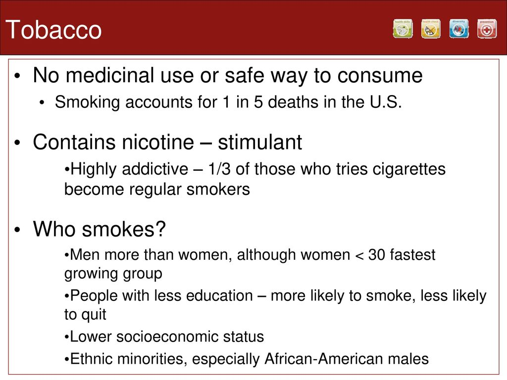 Alcohol and Tobacco  - ppt download