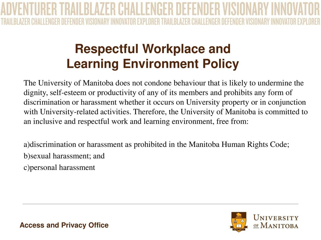 discriminatory or harassing behavior essay Course title workplace harassment for employees  and this is discriminatory  the key point to remember is that even if harassing behavior is rude,.
