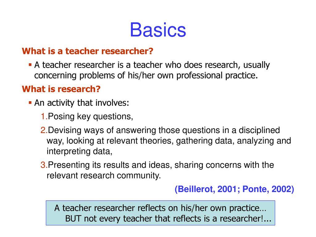 teacher research questions