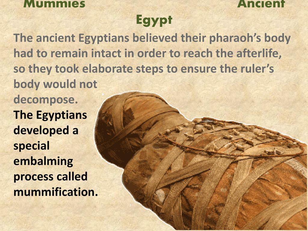 why was mummification important