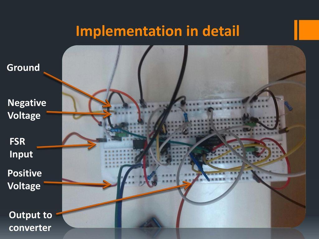 Biomechanics Biomedical Engineering Low Cost Force Sensor Ppt Positive Voltage To Negative Converter 9 Implementation In Detail Ground Fsr Input Output