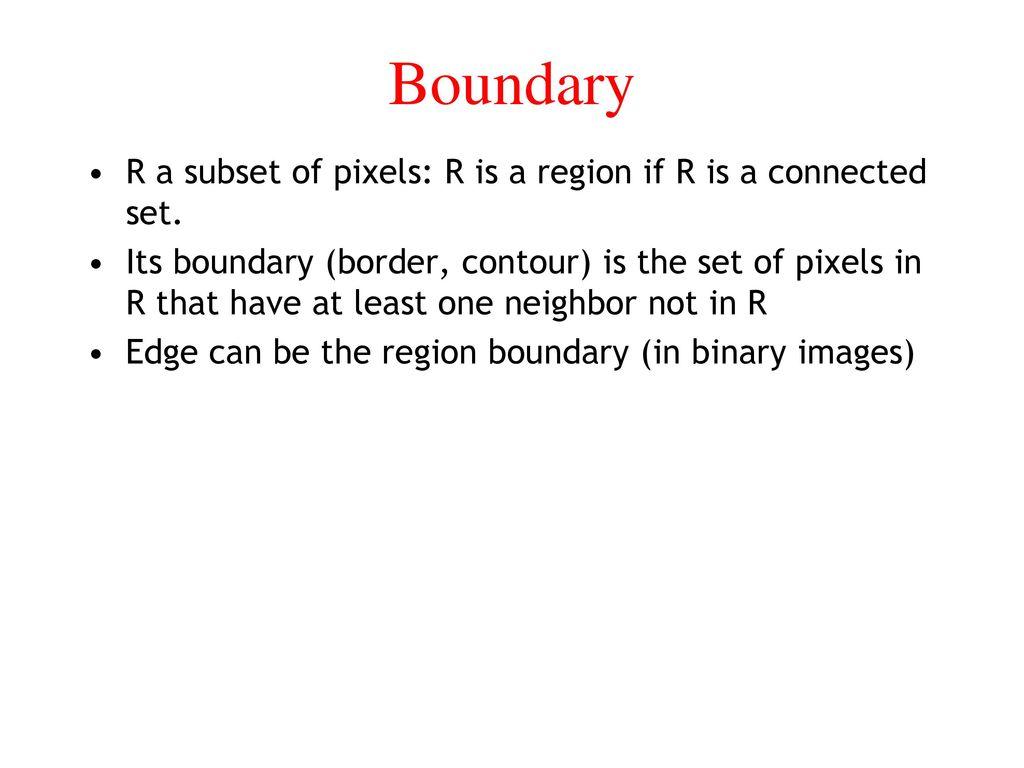 Some Basic Relationships Between Pixels - ppt download