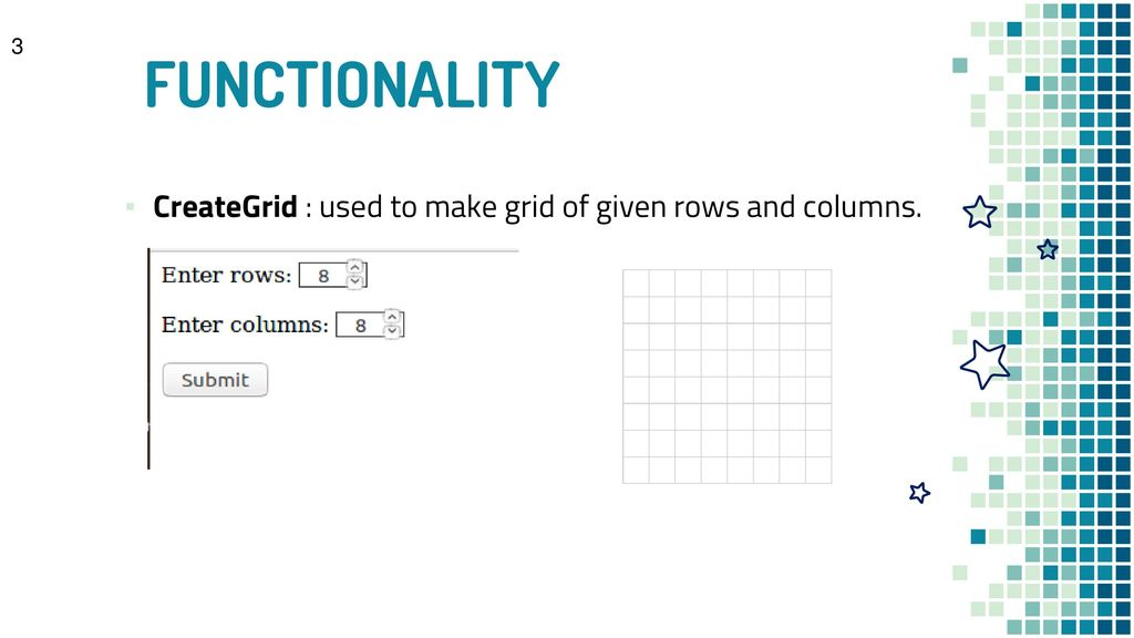 Grid component as a basic building block for Assessments - ppt download