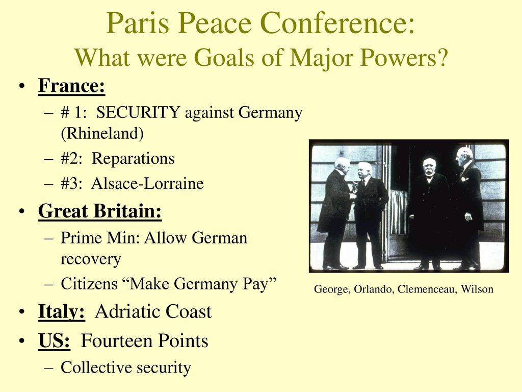 Treaty of Versailles and WWI Treaties - ppt download