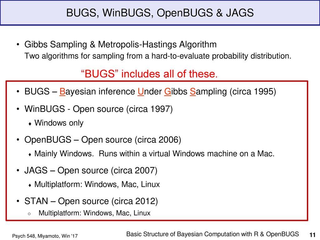 Openbugs power
