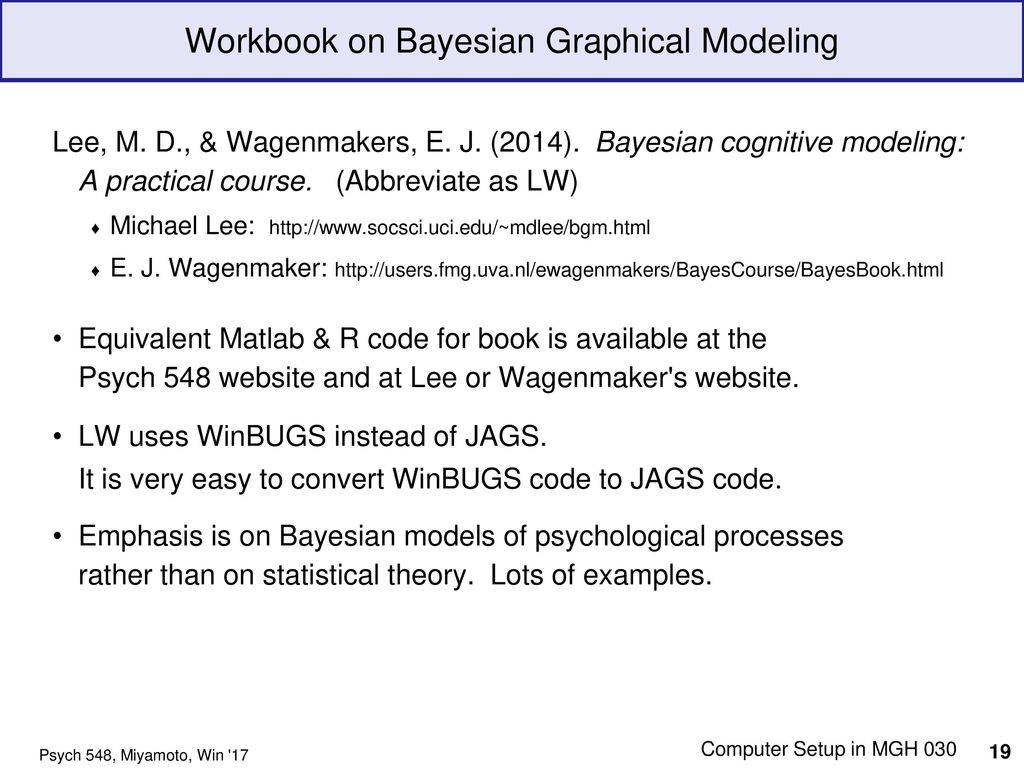 Bayesian Statistics, Modeling & Reasoning What is this