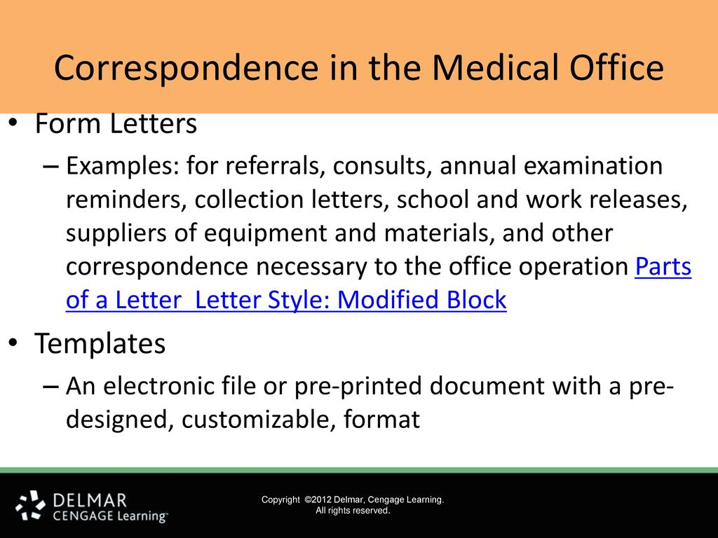 Collection Letter For Medical Office from slideplayer.com