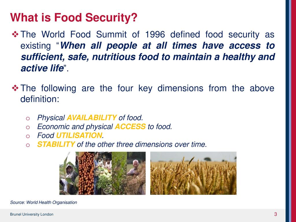 managing food security through waste reduction - ppt download