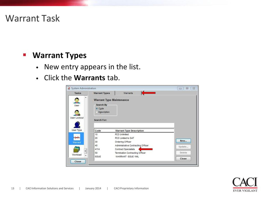 Creating and Establishing PD² Warrants - ppt download