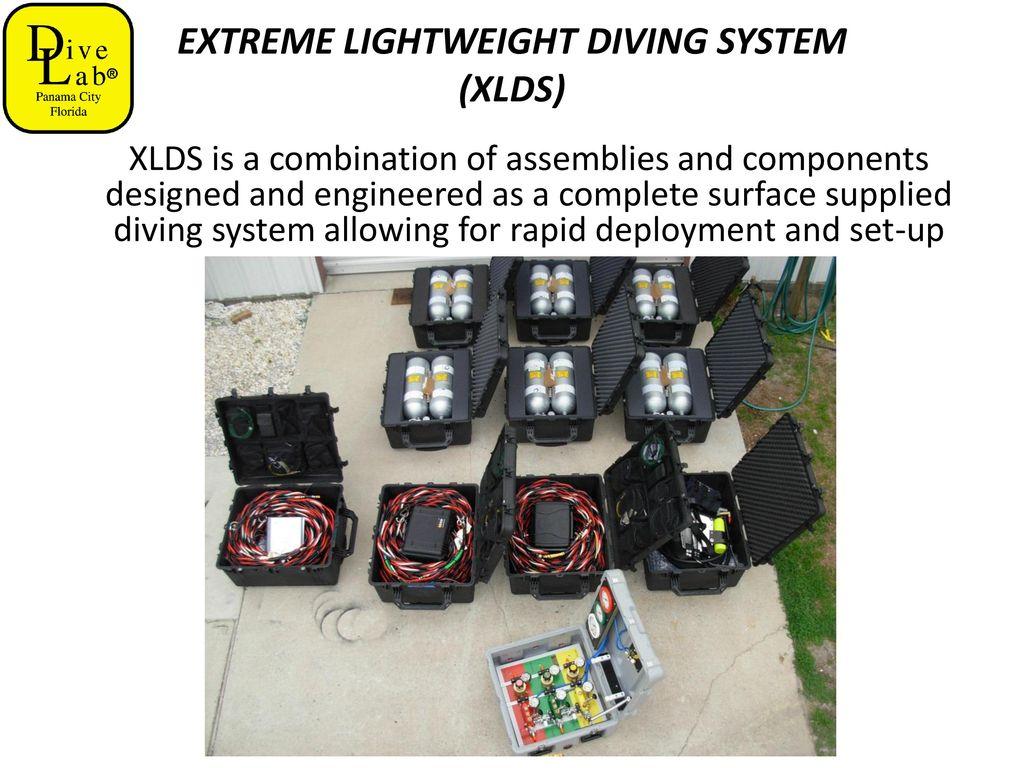 EXTREME LIGHTWEIGHT DIVING SYSTEM (XLDS) - ppt download