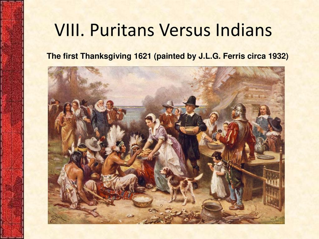puritans and natives