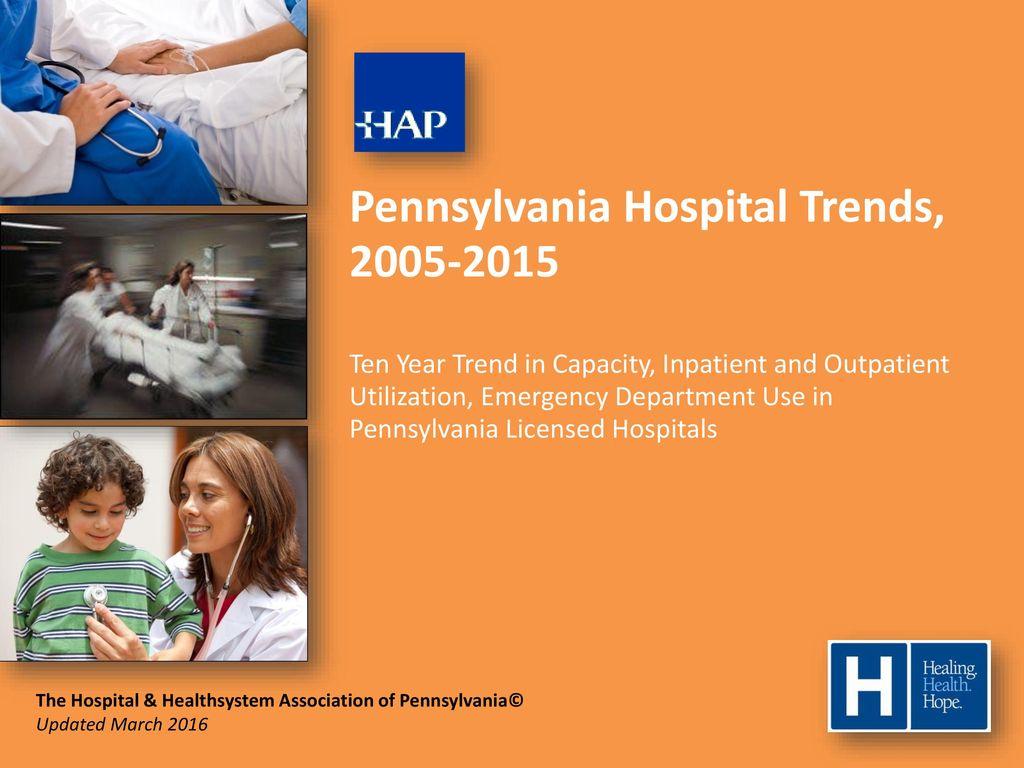 Pennsylvania Hospital Trends, - ppt download