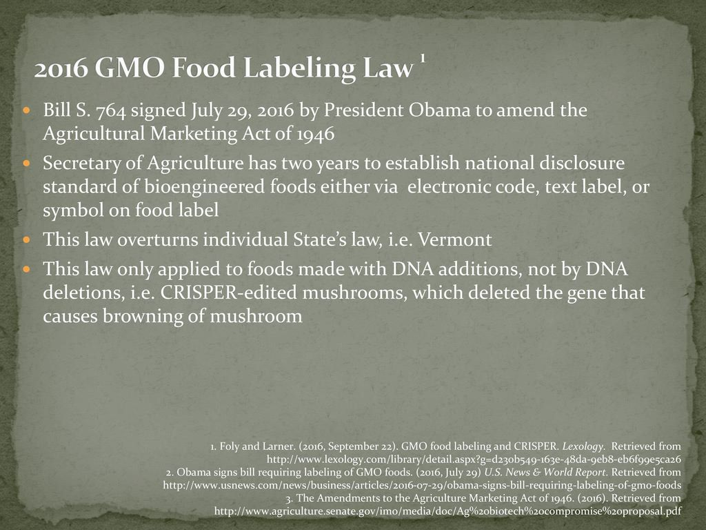 should labeling be required for gmos Neither the federal government nor state governments should impose mandatory labeling of genetically modified organisms in food here's why.