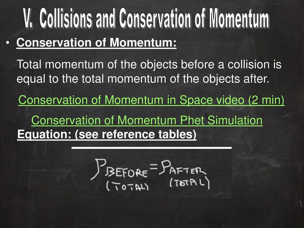 momentum phet