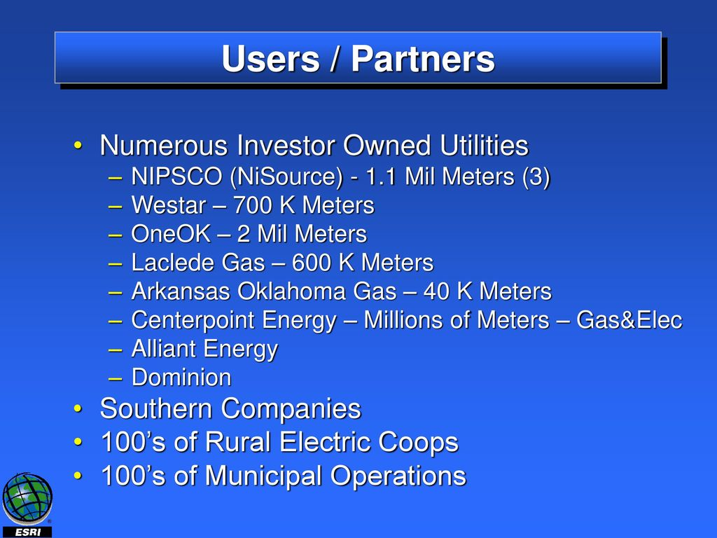 The Role of GIS for a Utility Regulatory Commission - ppt download