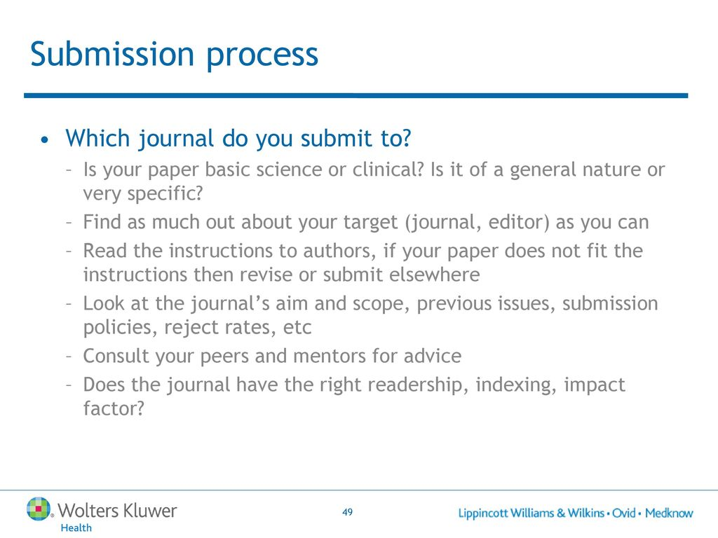 How To Develop Effective Articles For Publication In Medical